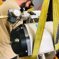 Photo by Advanced Valve & Instrument: VAC V200E testing station
