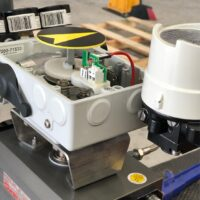 Photo by Advanced Valve & Instrument: VAC V200 electro-pneumatic positioner on a variety of valves