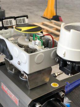 Photo by Advanced Valve & Instrument: VAC V200 electro-pneumatic positioner on a variety of valves