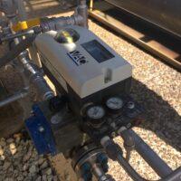 Photo by Swissfluid: D400 with a gauge block on a Swissfluid package