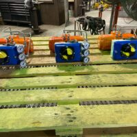 Photo by Satsuma Valve & Controls VAC V200 Positioner with a yellow and black dome indicator
