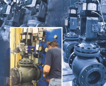 Photo by Warren Controls: V200 o special hydraulic valves for the newest aircraft carrier and for landing fighter jets