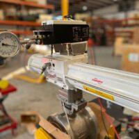 Photo by Advanced Valve & Instrument: Digital D400 Positioner