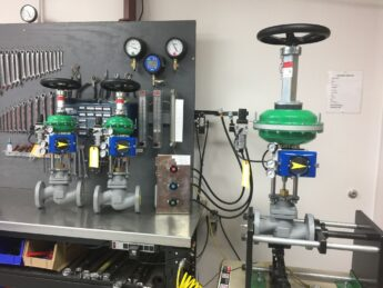 Photo by Control Products: VAC V200 30 degree rotation