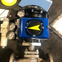 Photo by Ari-Armaturen: V200 with filter regulator and gauges.