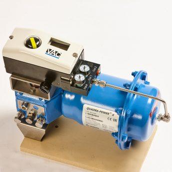 Retrofit D400 on Jamesbury QuadraPower