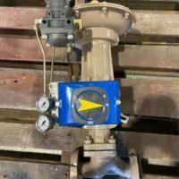 Photo by Satsuma Valve & Controls VAC 200E Positioner on a Cashco Series 989