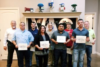 VAC Training Class with their Certificates